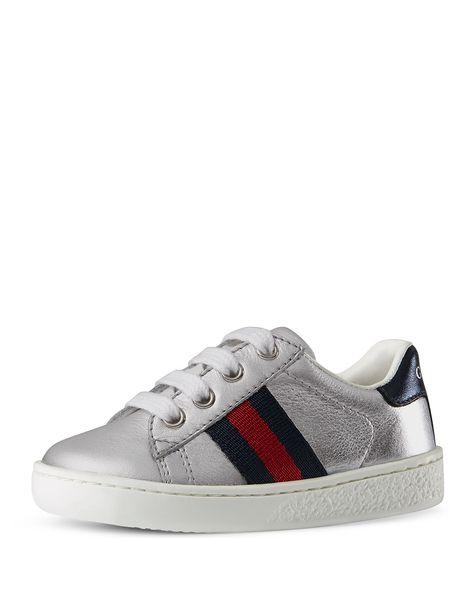 f173dc47da0a Gucci New Ace Leather Tennis Shoe