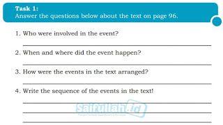 Pembahasan Soal B Inggris Chapter 8 My Idol Page 114 115 Kelas 10
