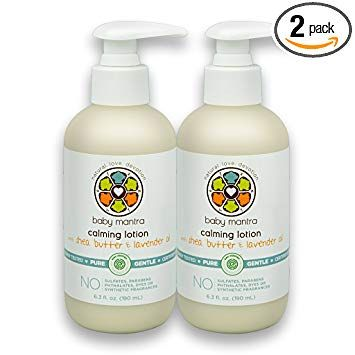 Baby Mantra Calming Lotion Ewg Verified Baby Moisturizing Cream With Shea Butter And Lavender Oil Re Calming Lotion Moisturizer Cream Organic Body Lotion