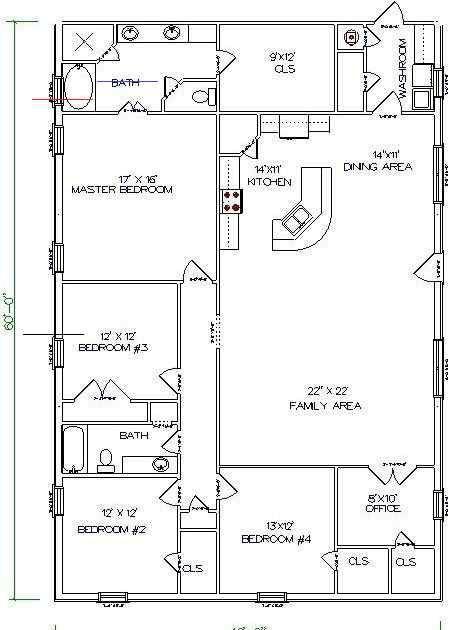 barndominiumideasfloorplans in 2020 | Metal house plans, Barn homes floor  plans, Barn house plansPinterest