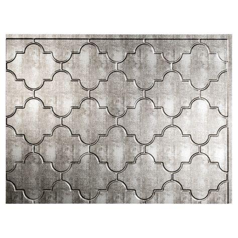 backsplash panel - monaco - pvc - silver - i would like