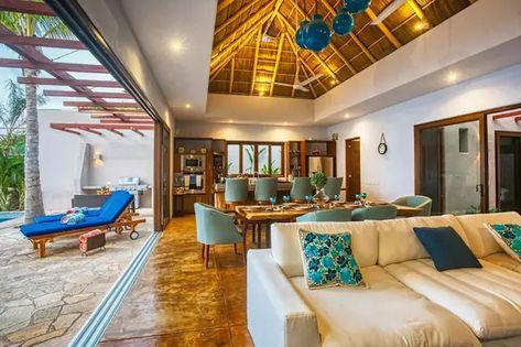 Diseño y construcción de preciosa casa tropical en Nayarit | homify