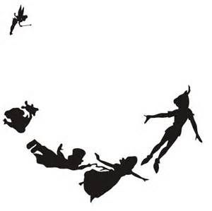 peter pan silhouette bing images disney neverland pinterest peter pan silhouette peter pans and silhouettes