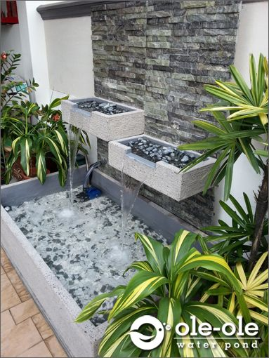 P19 Water Ponds Design Malaysia Kolam Ikan Hiasan Johor Fengshui Home Deco 风水池 园艺 鱼池 New Arrival Pond Design Water Features In The Garden Patio Water Feature