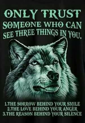 I need to remember this quote | words I live by | Lone wolf