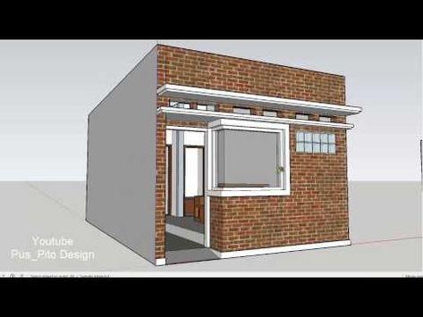 desain rumah sederhana ukuran 6x7 - desain minimalis
