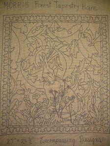 William Morris Rug Hooking