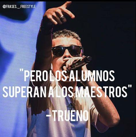 Frases De Trueno Freestyle Frases De Canciones Rap Frases De Raperos Frases Para Fotos Rap