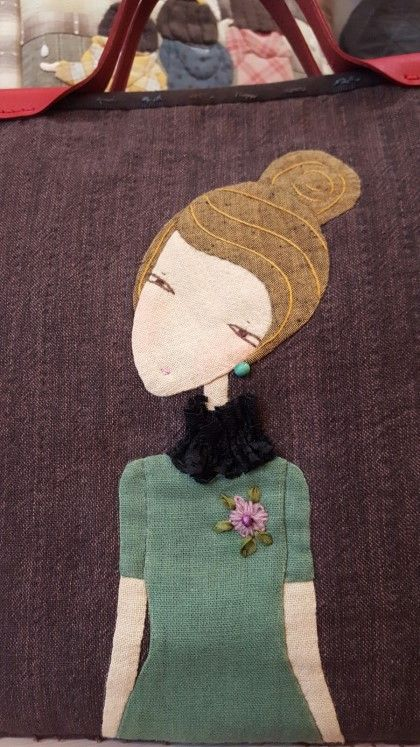 Home Tweet Home  is the name of this wool appliqu\u00e9 pattern