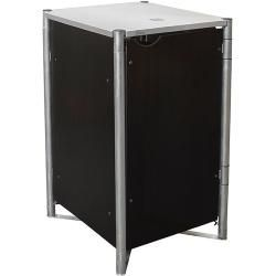Hide Garbage Can Box 63 4 X 60 4 X 115 2 Cm Suitable For 1 Garbage Can 110 140 L Plastic Black Boxes Cans Di In 2020 Appartment Decor Home Insulation Bauhaus