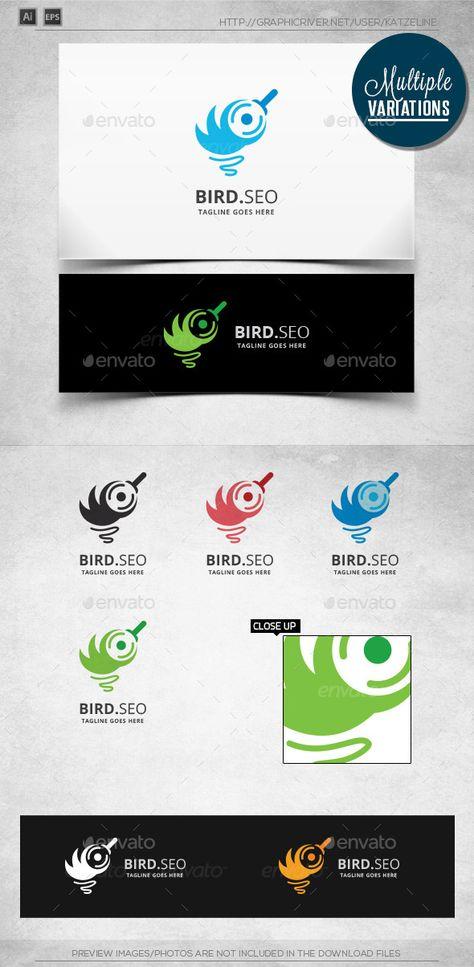 Bird Search - Logo Template