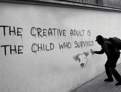 "Sociolatte: ""The creative adult..."" - Ursula K. Le"
