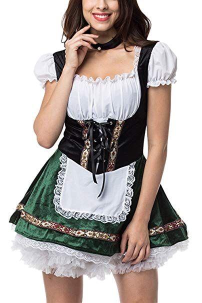 Dirndl Trachtenkleid 3tlg Oktoberfest oder andere Feste Feierlichkeiten