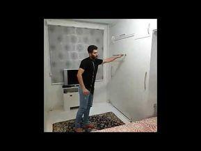 افكار استغلال المساحات الضيقة في المنزل تعرف على المنازل الذكية في المستقبل Youtube Home Deco Storage Ironing Center