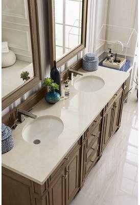 Senza Tuscany 34 Double Bathroom Vanity Set With Medicine Cabinet