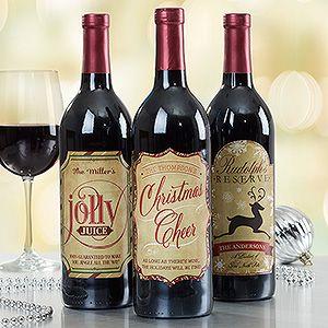 Een fles goedkope rode wijn