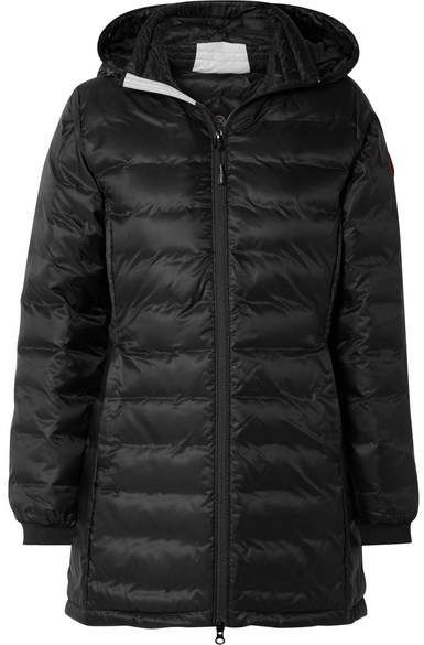 2a45a4646 Camp Hooded Quilted Shell Down Jacket - Black #warmth#waterproof ...