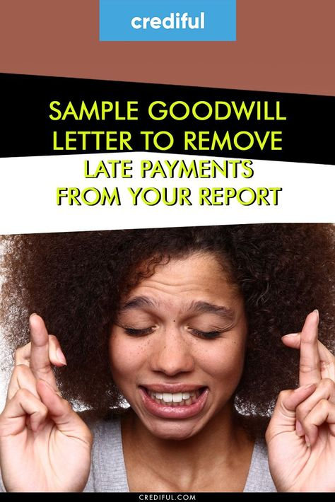 Goodwill Letter Sample Credit Repair Companies How To Fix
