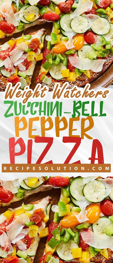 Zucchini-Bell Pepper Pizza - Recipe SOLUTION -WW RECIPES -   The road to healthy eating is easy with these Healthicious recipes, makes it easy and enjoyable to eat well and feel great than ever before to stay on track with your HEALTHY ( including breakfasts, lunches, dinners and snacks, nutrition advice you can trust, shopping tips) goals.  #zucchini #bell #pepper #pizza #RecipeSOLUTION #HealthyMeals #Recipes #mealplanning #US #Canada #UnitedStates #UK #Australia #marshalislands #Brazil #switze