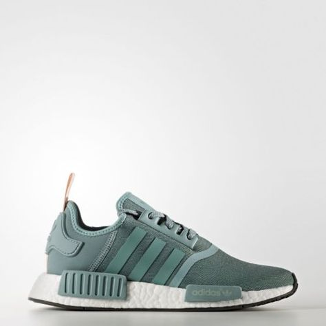 7cbde44c3f37a Women-039-s-Adidas-NMD-R1-Vapour-Steel -Teal-Pink-S76010-Green-Turquoise-Women