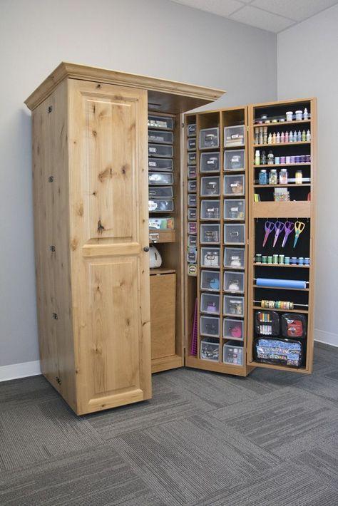 31 Best Craft Room Storage and Organization Furniture Ideas