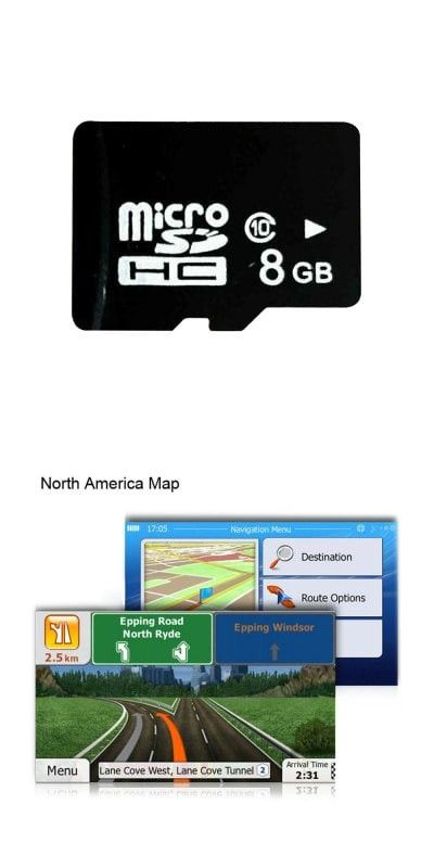 8GB Micro SD Card with GPS Map for WinCE Car System NORTH ... on gps maps for sd, tomtom gps sd card, gps maps screen, microsd card, gps maps software, nextar gps sd card, us maps sd card,