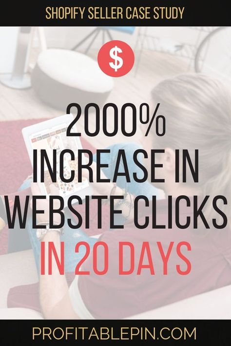 How to Increase Online Sales Fast – Pinterest for Shopify Sellers Client Case | Profitable Pin