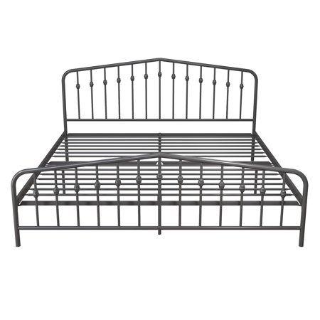 Home Metal Beds Metal Platform Bed Wrought Iron Bed Frames
