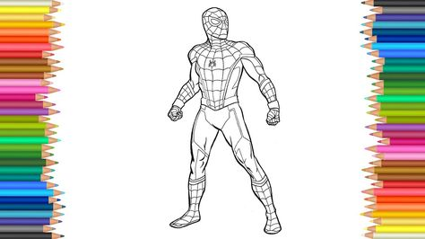 Spider Man Homecoming Coloring Pages Google Search Robin
