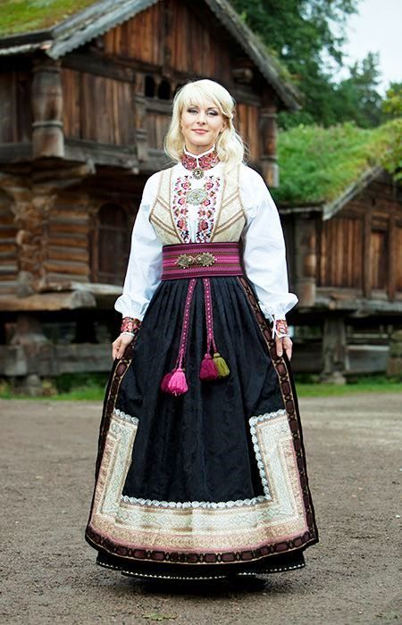 Noruega Oslo Traje Tradicional Norwegian Dress Scandinavian Dress Traditional Outfits