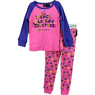 6b6934c9783c John Deere Toddler and Girls Pajamas Set