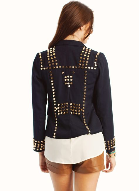 studded blazer $111.30