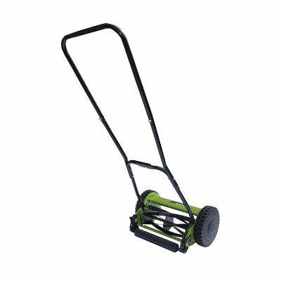Aleko Ghpm12 5 Blade 12 Inch Hand Push Lawn Mower Push Lawn Mower Lawn Mower Reel Lawn Mower