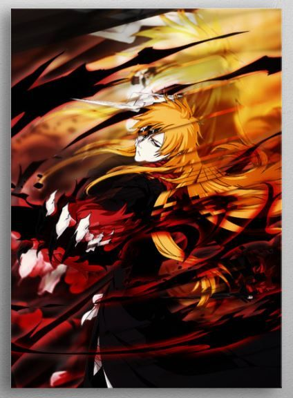 Monster Inside Anime Manga Poster Print Metal Posters With