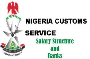Nigeria Customs Service Salary Structure According To Ranks Customs Service Custom Salary