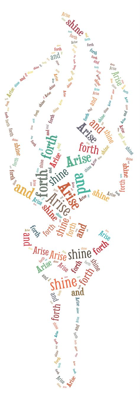 Arise and Shine. 2012 YW