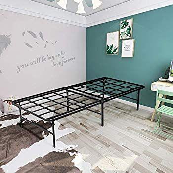50 Off 16 Inch Platform Bed Frame Taller Metal Noise Free