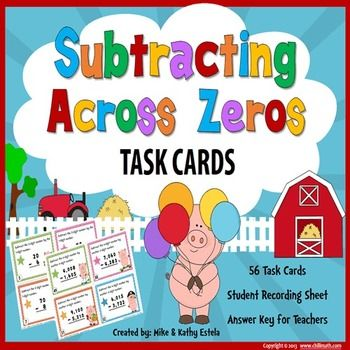 3rd Grade Go Math 1.10 Subtraction Multi-Digit Whole Numbers To ...