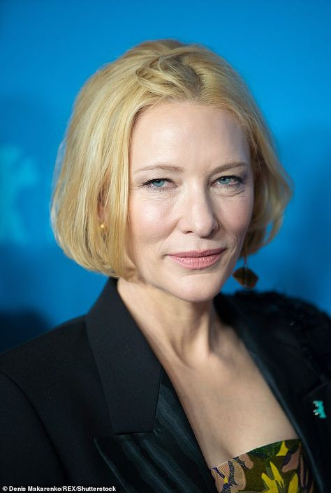 Hectic: Cate Blanchett has revealed she has an 'attraction to chaos' as she and her husban...