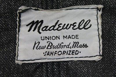 I think I had a pair of denim & white Madewell painter's pants in the 80's.  They were sooo cool!