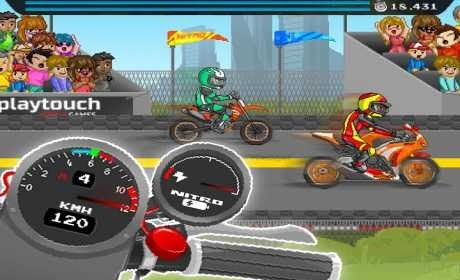 Moto Quest : Bike racing (retro drag races) is a Arcade Game for