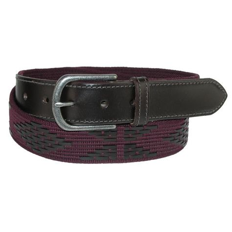 New Macondo Men/'s Barolo Hand Stitched Polo Belt