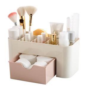 Organiseur Rangement Maquillage Tiroir En Plastique Pour Cosmetiques Pour Salle De Bain Bureau Boite De Rangement Rose Rangement Tiroir Boite Rangement Maquillage Et Rangements Maquillage