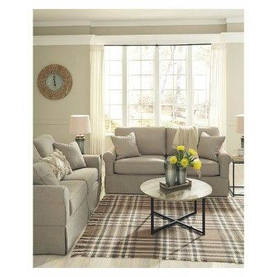 Incredible Senchal Sofa Cream Signature Design By Ashley Gray Gmtry Best Dining Table And Chair Ideas Images Gmtryco