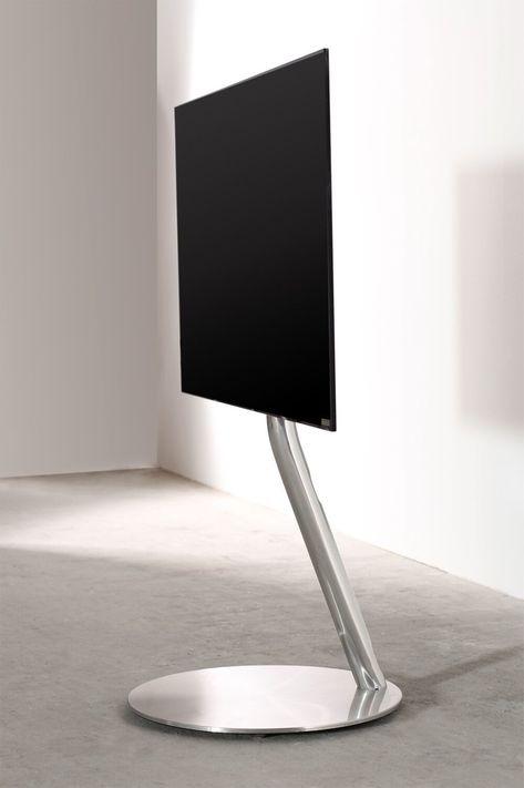 Wissmann Raumobjekte Porta Tv Girevole.Ecoline Circle Tv Floor Stand Tv Stand Open Living Room Design