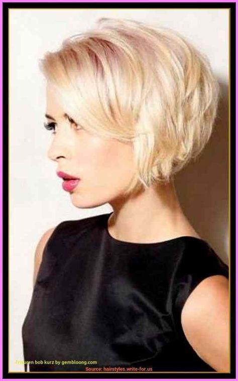 Einzigartige Frisuren Frauen Blond Kurz Modern Super Fur