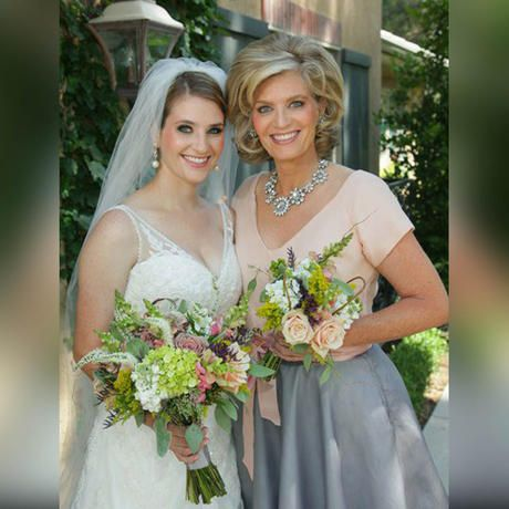 Mother Of The Bride And With Her Daughter Fabulous Wedding Day Hair Weddings My Amazing Clients Pinterest Style