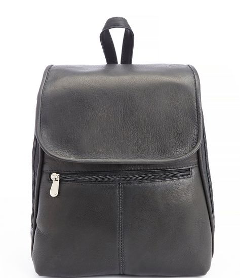 """From ROYCE New York, the Leather Luxury Tablet Travel Backpack features:Columbian Genuine LeatherLaptop or iPad storageZipper closureSpacious storage on the exterior Adjustable straps Approx. 12.5"""" x 11"""" x 6.5""""Weight approx. 2 lbs. Imported."""