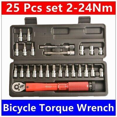 Sponsored Ebay Mxita 1 4inch Dr 2 24nm 25 Piece Torque Wrench