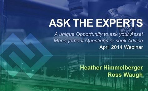 Inframanage presents the ask the experts april 2014 webinar ebook inframanage presents the ask the experts april 2014 webinar ebook a helpful resource for your asset management practice pinterest asset management fandeluxe Image collections